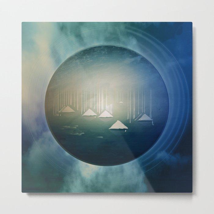 Communicate in Blue / Archipelago 27-01-17 Metal Print