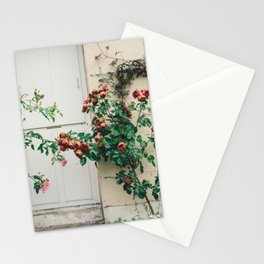 Roses in Giverny, France Monet's Garden Stationery Cards