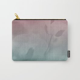 Pink Blue Poppies Carry-All Pouch