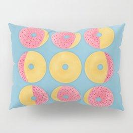 Moon Phase Donuts Pillow Sham