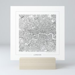 London Map 2 Mini Art Print