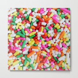Candy Topping Metal Print