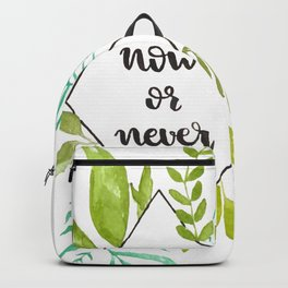 Now or never Backpack