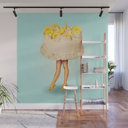 Cake Girl - Lemon Wall Mural