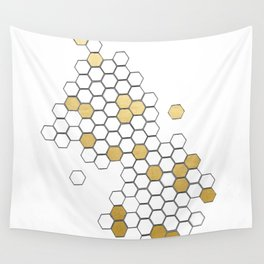 Honey Comb Wall Tapestry