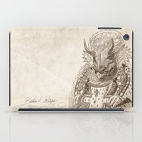 bouletcorp iPad Cases featuring Béatrice E. Ratops by Bouletcorp