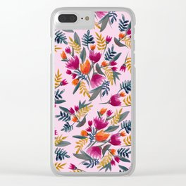 Bloomin' beauty Clear iPhone Case