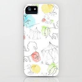 carrusel iPhone Case