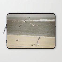 Life at the Shore - Coastal Landscape Photograph Laptop Sleeve