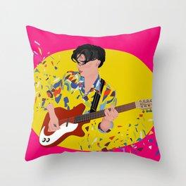 Tunes Throw Pillow