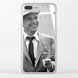 Sinatra at Rehearsals Clear iPhone Case