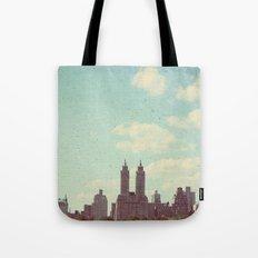 The sky is always bigger Tote Bag
