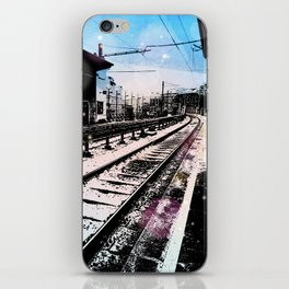 Station dream iPhone Skin