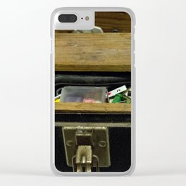 Tool Box Clear iPhone Case