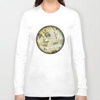 escher Long Sleeve T-shirts featuring Escher Intersection by Vin Zzep