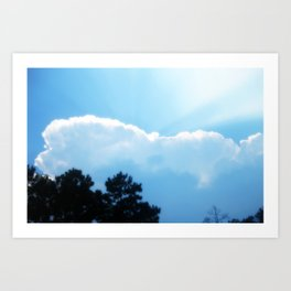 The Silver Lining Art Print