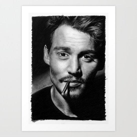Dear Mr. Depp Art Print
