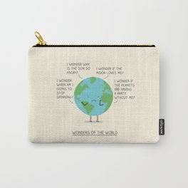 Wonders of the world Carry-All Pouch