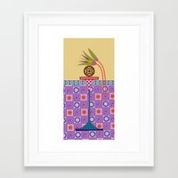 bread Framed Art Prints featuring Ancient Bread #1 by Paco Dozier