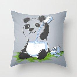 Panda in my FILLings Throw Pillow
