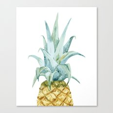Pineapple Topper Canvas Print
