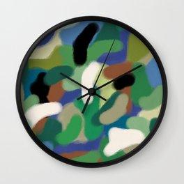 Camouflage Hero Tribute Wall Clock