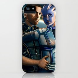 Mass Effect - Always here for you. iPhone Case