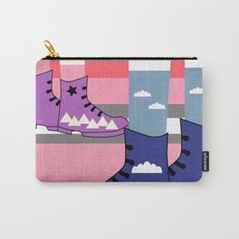 Colorful walk Carry-All Pouch