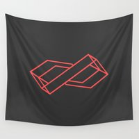 infinite Wall Tapestries featuring Infinite by Leseed
