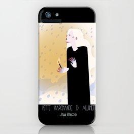 La Petite Fille aux Allumettes iPhone Case