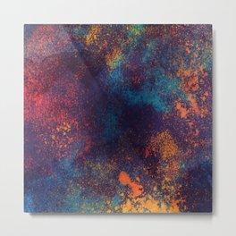 Universe color splash Metal Print