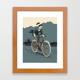 Chapeau! Framed Art Print