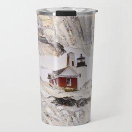 Lighthouse reflection Travel Mug