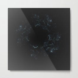 Geometric Cosmic Light 138 Metal Print