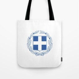 Coast of arms of Greece Tote Bag