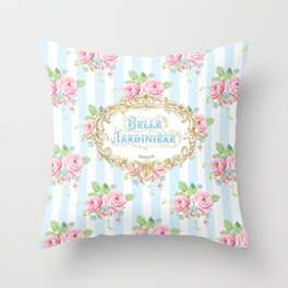 Belle Jardiniere Throw Pillow