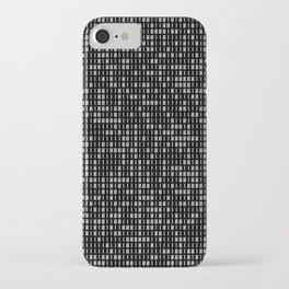 hacker iPhone Case