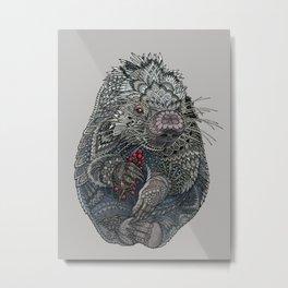 Porcupine Metal Print