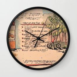 Mississippi Memories Wall Clock