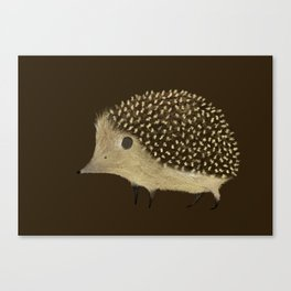 Betty The Hedgehog Canvas Print