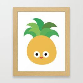 Abbu's pineapple Framed Art Print