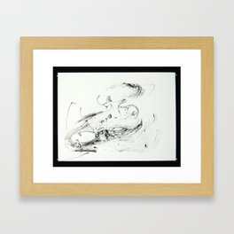 Horse Skull Framed Art Print