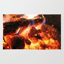 Campfires and Hot Cocoa Rug
