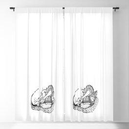 Dragon Eggs Blackout Curtain