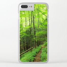 Forest 6 Clear iPhone Case