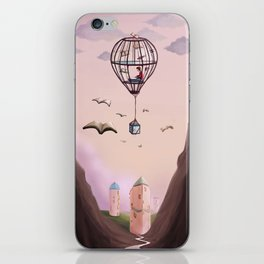 A Very Bookish Adventure iPhone Skin