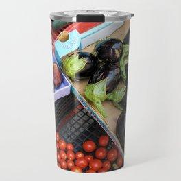 Vegetables of Calabria Travel Mug