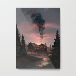 Forgotten House Metal Print