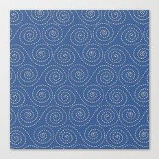 Sea Swirls Canvas Print