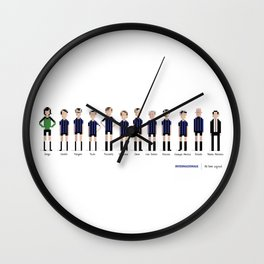 Internazionale - All-time squad Wall Clock